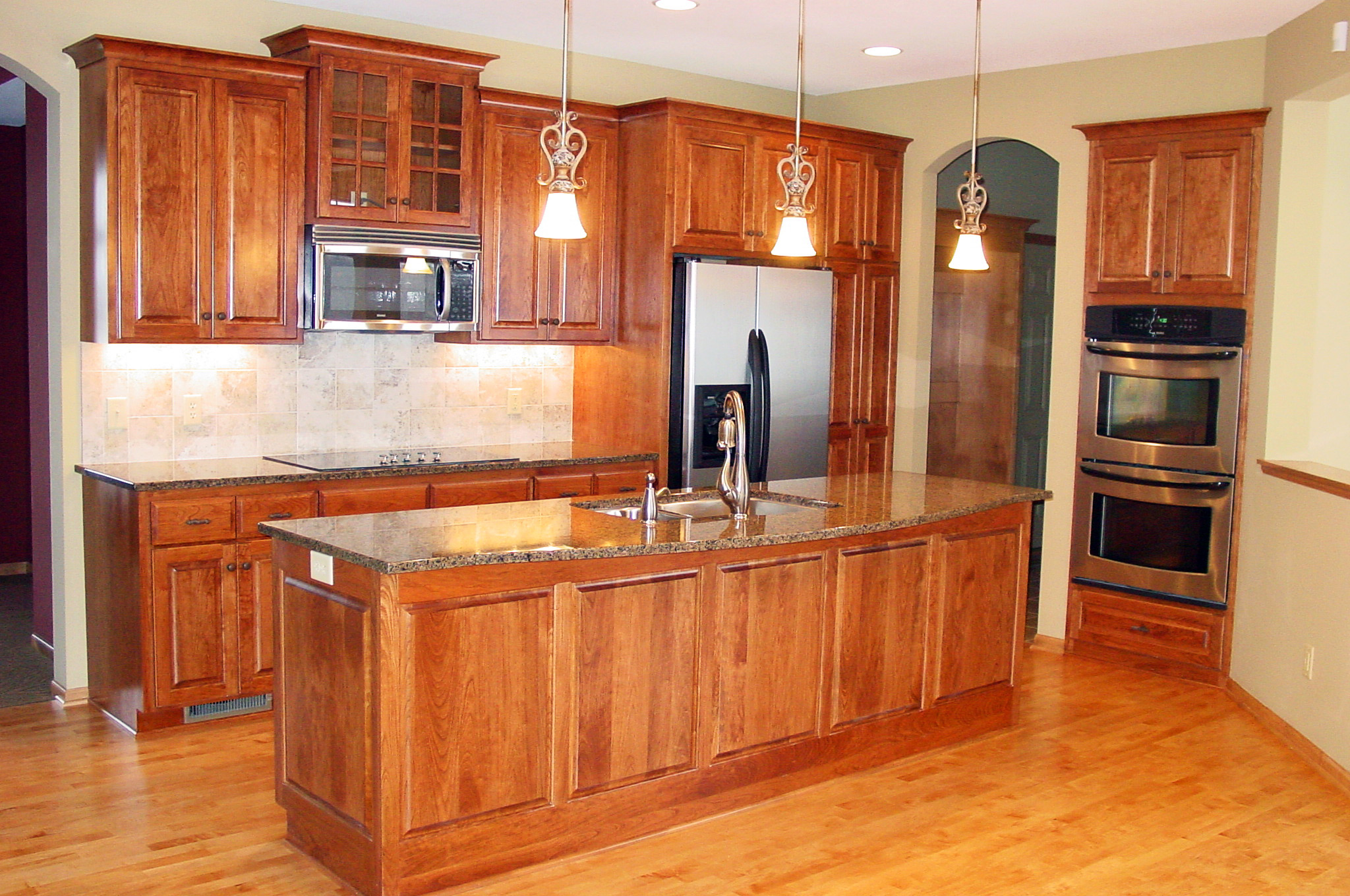 Design In Wood What To Do With Oak Cabinets: Maetzold Homes, Inc